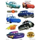 Disney Pixar Cars Stickers set of 2