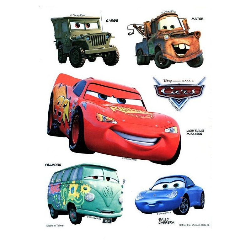 cars disney decal - photo #23