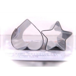Japanese Bento Vegetable Cutter Stainless Steel L