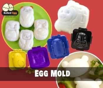 Egg Mold & Rice Mold