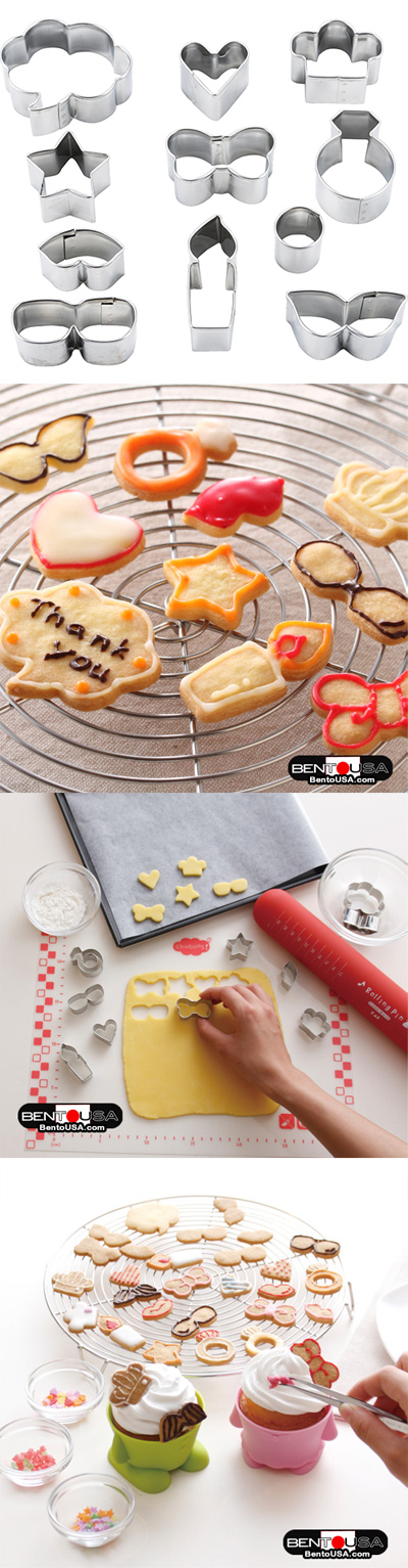 Vegetable cutter cookie cutter
