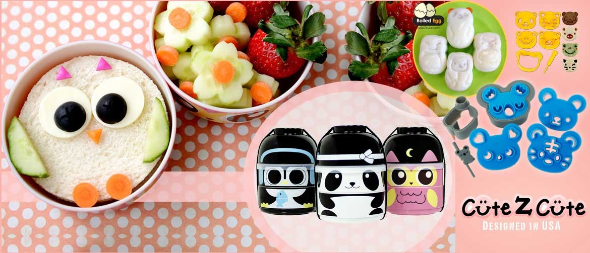CuteZCute makes food fun for kids lunch box - train your kids to eat healthy